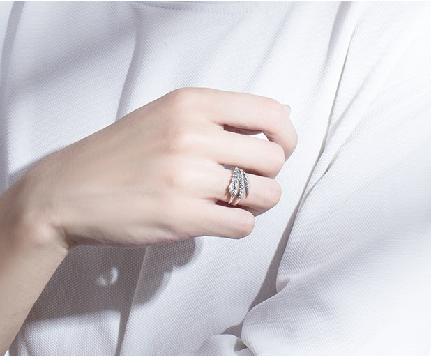 ring silver 37