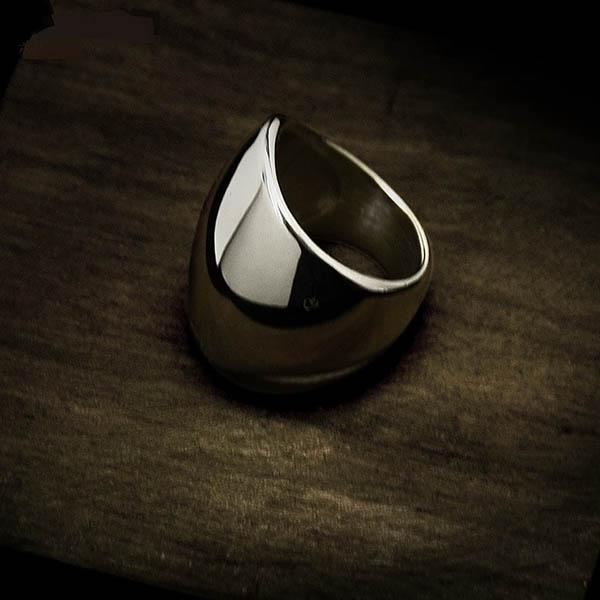 rostfritt stål ring